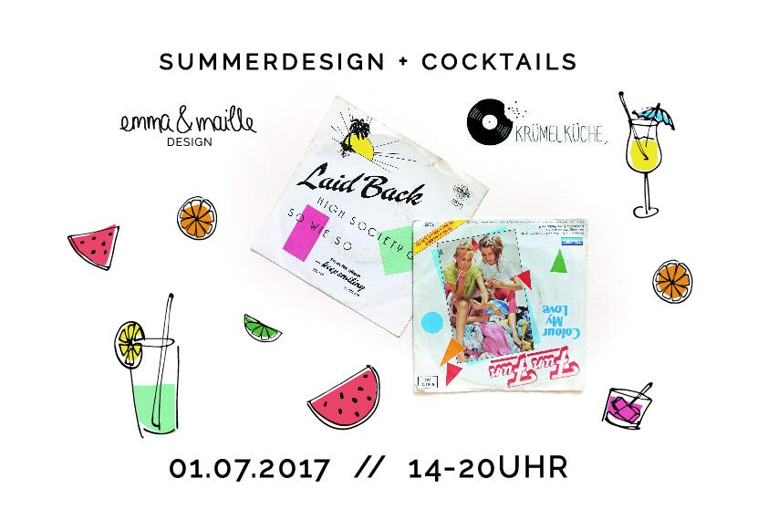 Veranstaltung summerdesign und Cocktails