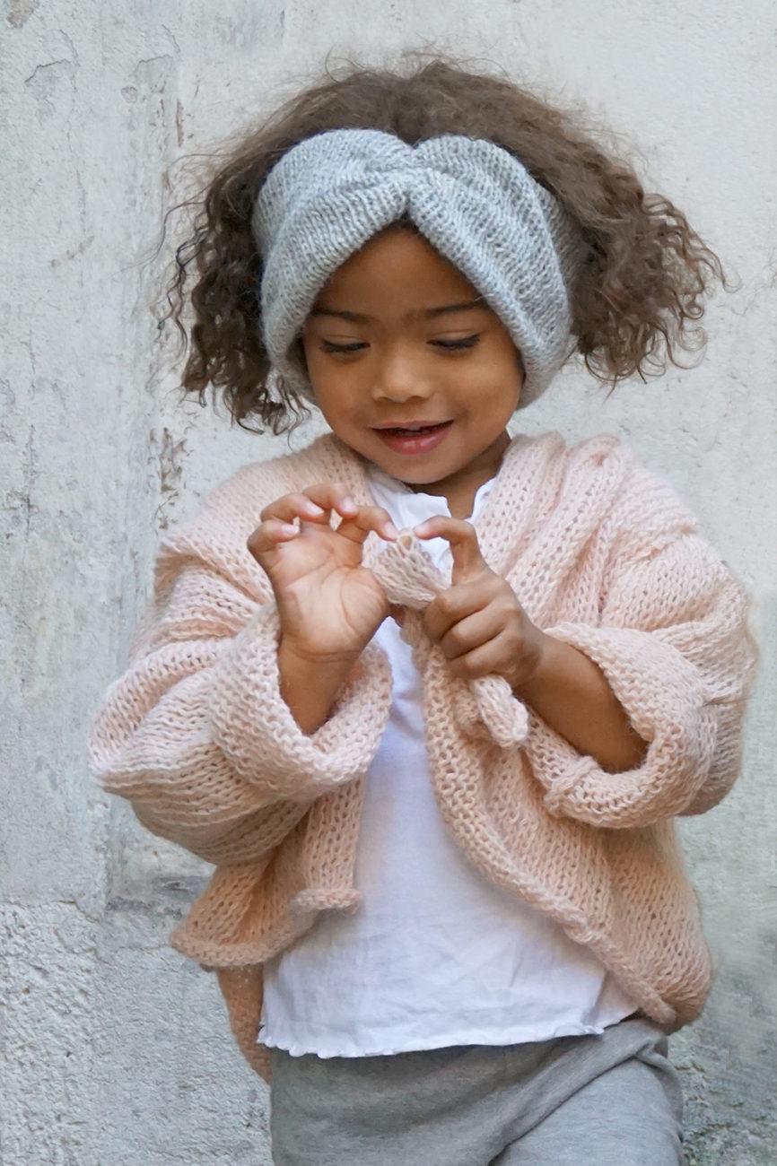 nachhaltige Strickmode für Kinder